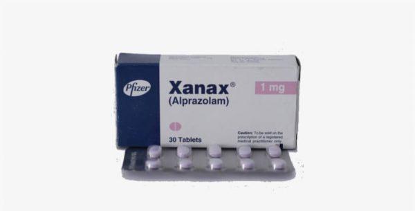 Alprazolam or Xanax 1mg 30 tablets pack