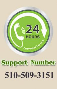 Support number logo